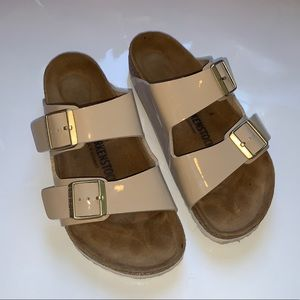 Birkenstock in color tan size 40!